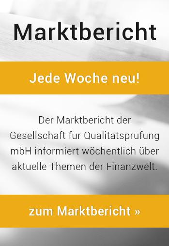 Marktbericht - Jede Woche neu!