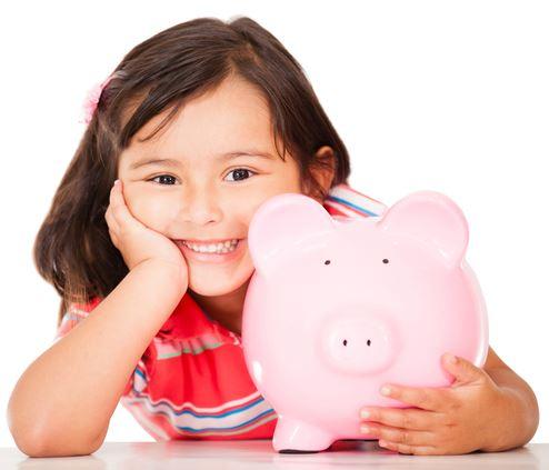 Für Kinder sparen